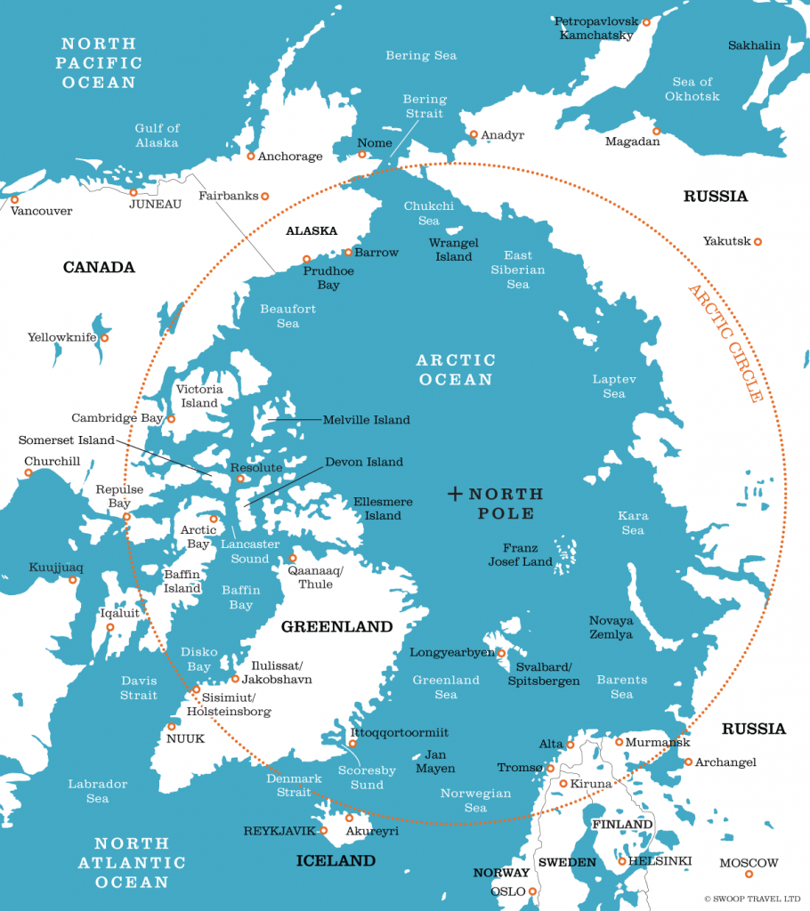 The Arctic Circle Facts  Information  Beautiful World Travel Guide