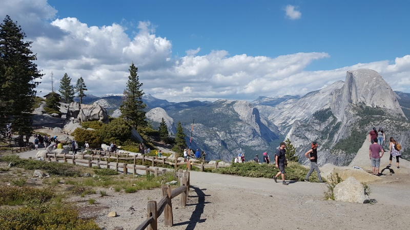 Glacier Point Paths and Vistas