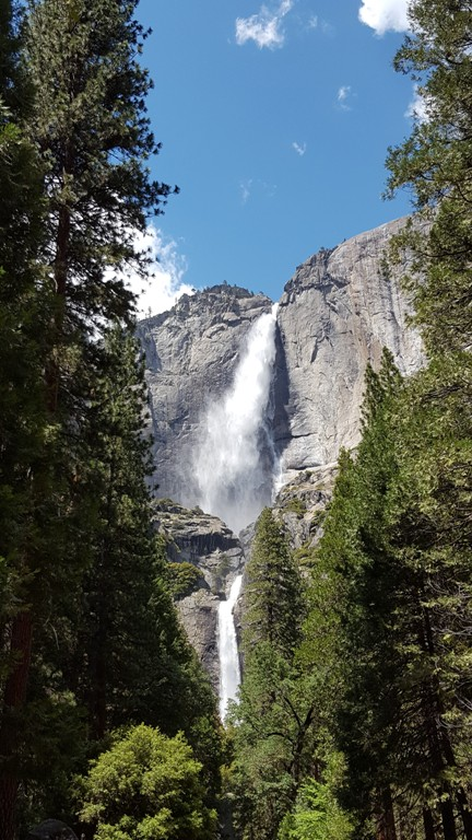 Yosemite Upper and Lower Falls