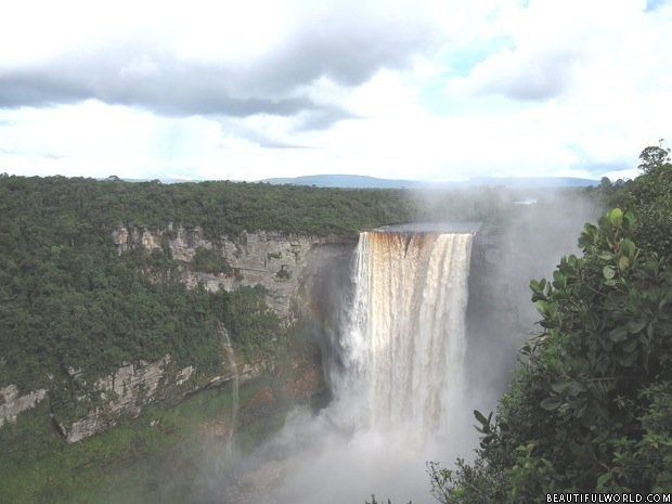 kaieteur-falls-waterfall