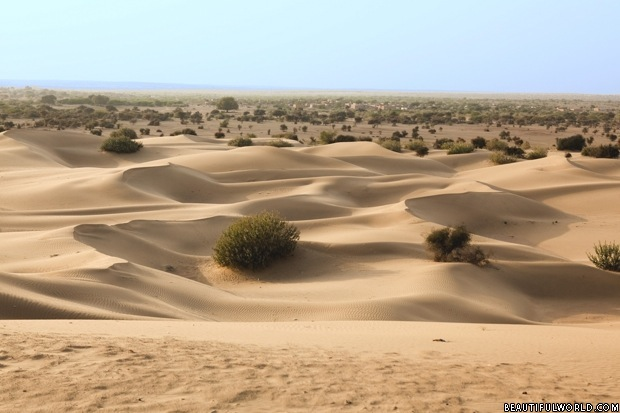 Thar Desert in Pakistan