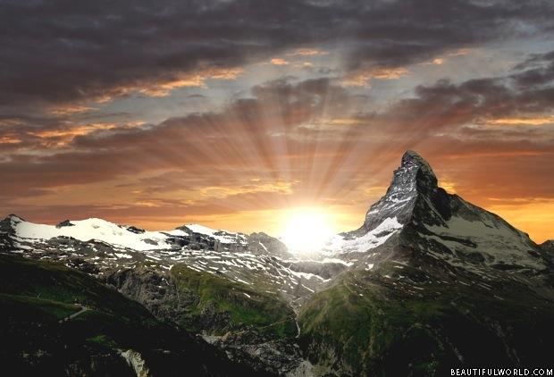 matterhorn-sunrise