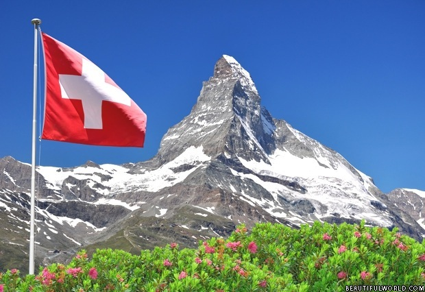 matterhorn-with-swiss-flag