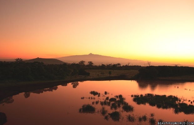 mount-kenya-at-sunrise