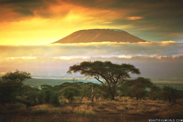 mount-kilimanjaro-sunset