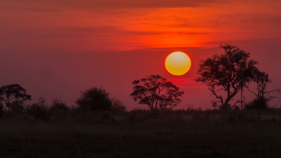 okavango-delta-sunset