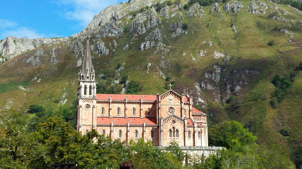 Covadonga in Asturias
