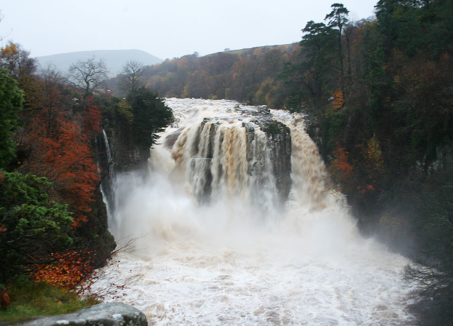 High Force Waterfall In Full Flow
