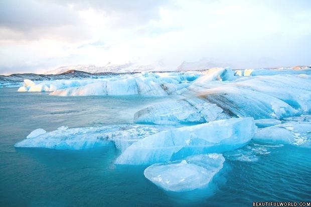 Icebergs at Jokulsarlon