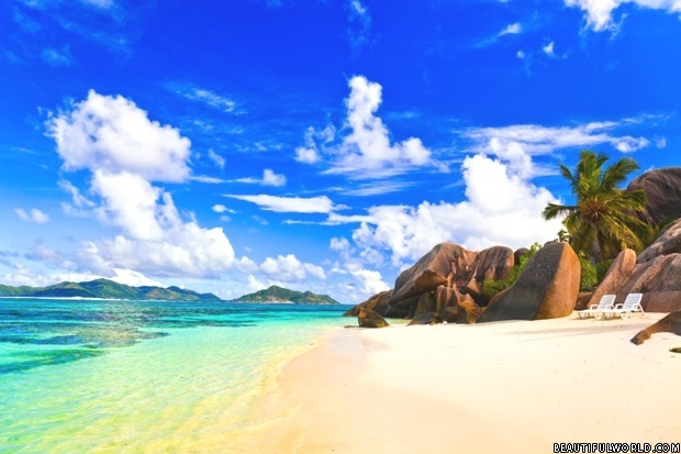 Seychelles Golden Beach