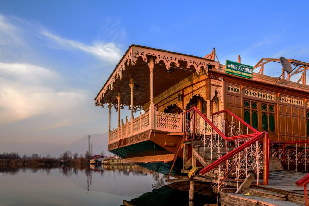 A Lake Dal House Boat