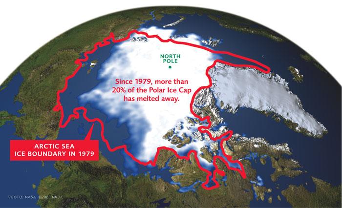 Polar Sea Ice Melt
