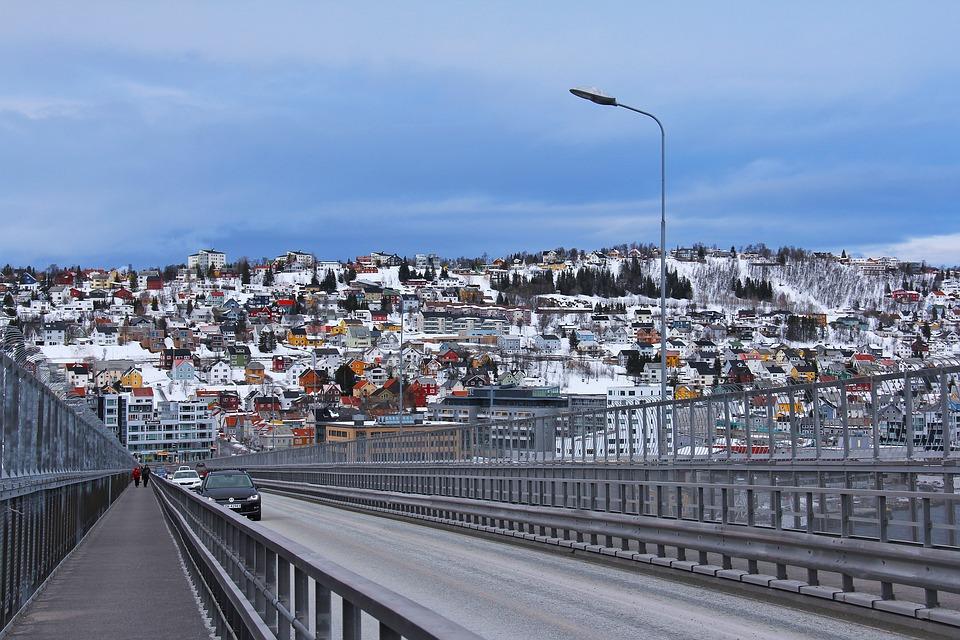 Tromso Bridge Norway