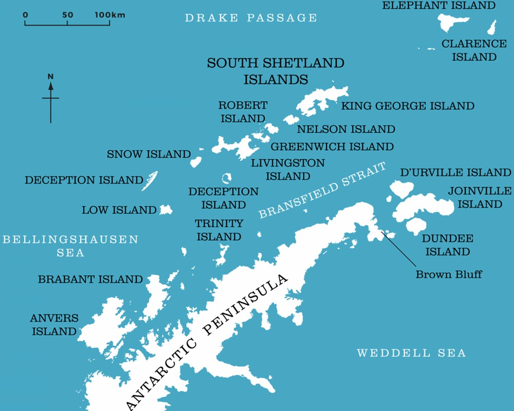Antarctic Peninsula Facts & Information - Beautiful World Travel Guide