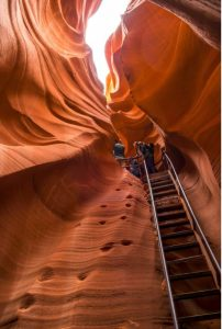 Lower Antelope Canyon Ladder