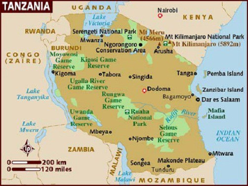 Mt Kilimanjaro On World Map.Mount Kilimanjaro Facts Information Beautiful World Travel Guide