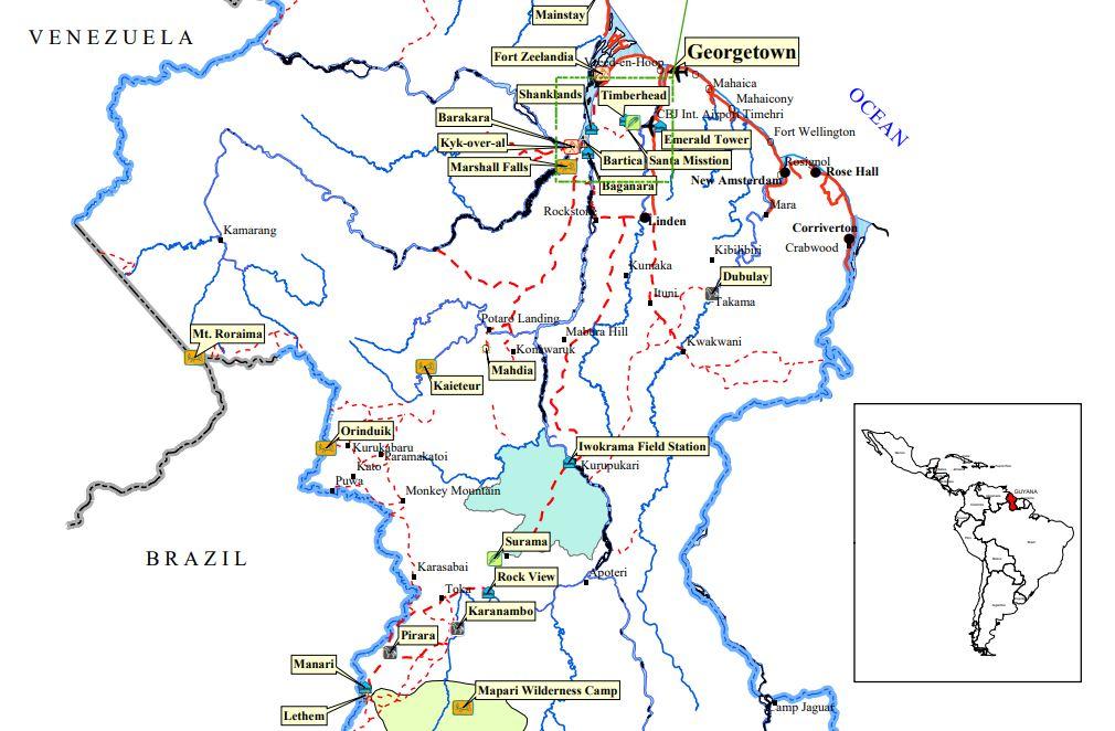 Mount Roraima, Guyana