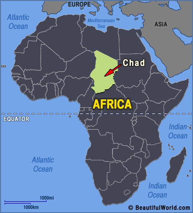 chad-africa-map