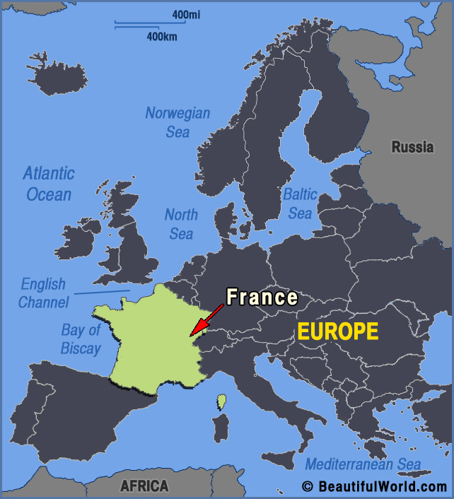 Map Of Europe France.Map Of France Facts Information Beautiful World Travel Guide