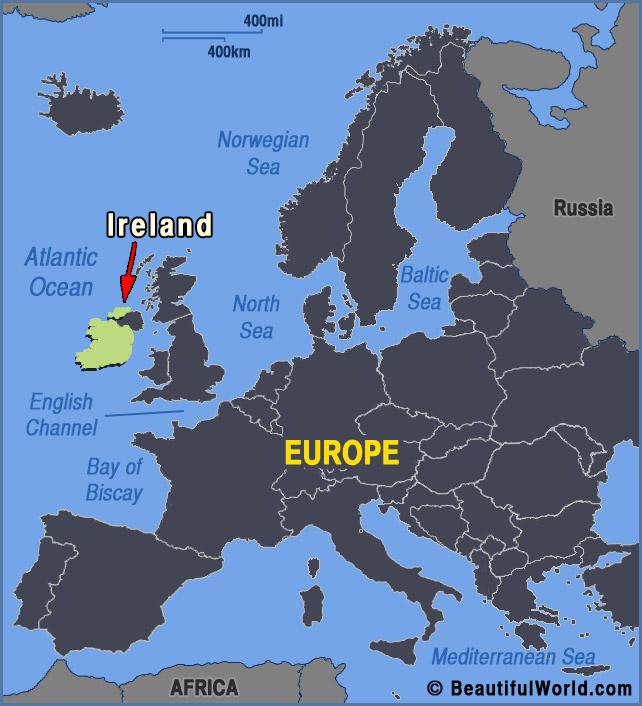 Map Of Europe Ireland Bearsjerseysshop