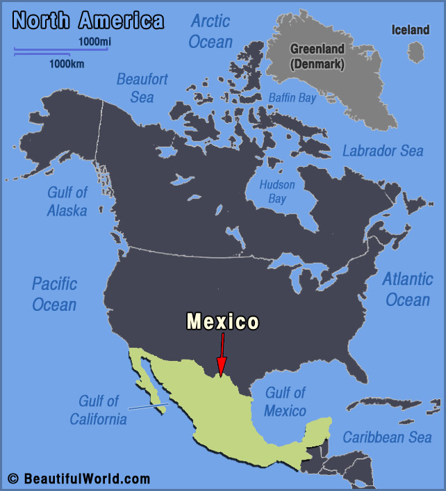 Map of Mexico - Facts & Information - Beautiful World Travel ...