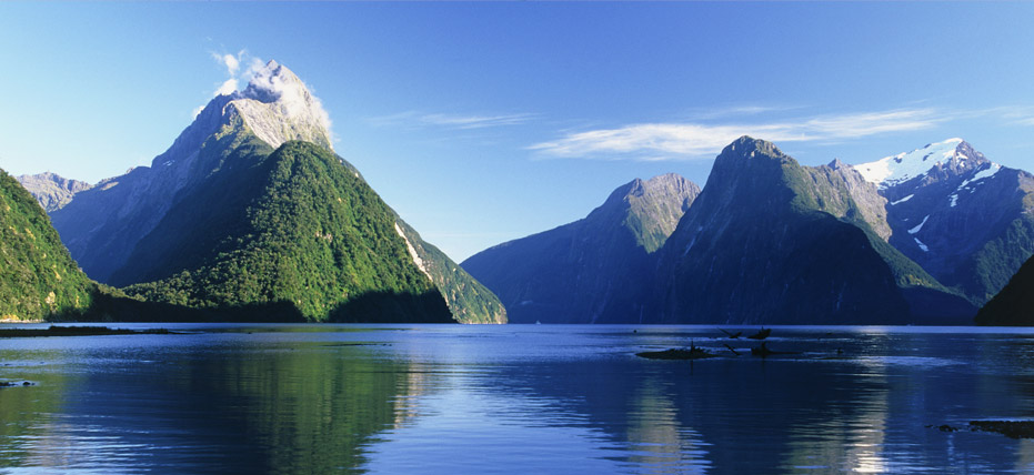 Cleared milford sound neuseeland fotos that would
