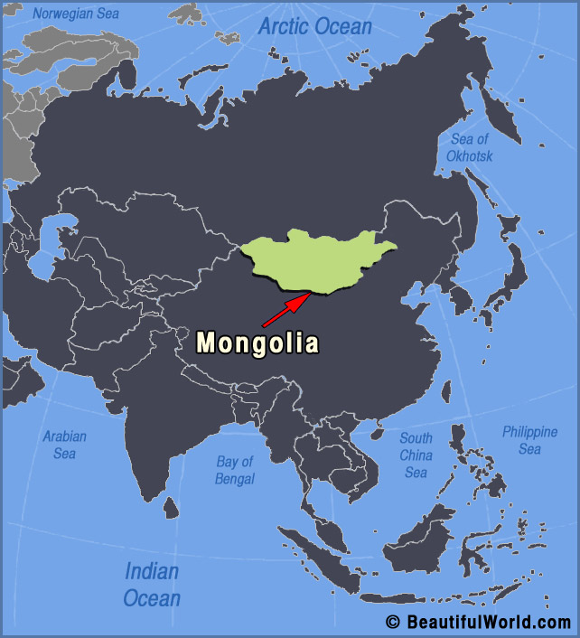 Map of mongolia facts information beautiful world travel guide mongolia map gumiabroncs Images