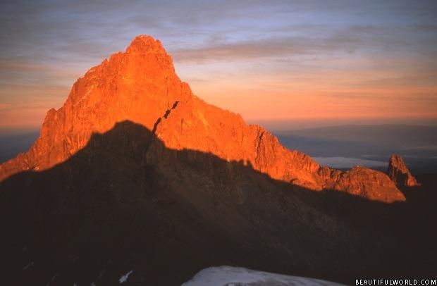 Mount Kenya Facts & Information - Beautiful World Travel Guide