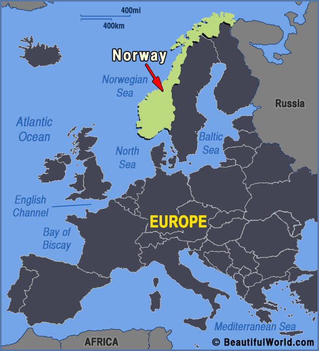 Map Of Norway Facts Information Beautiful World Travel Guide