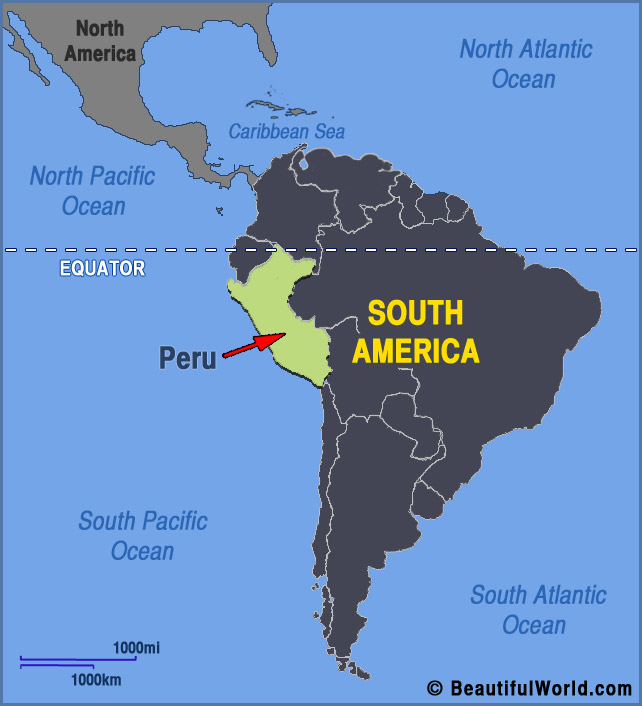 Map Of Peru Facts Information Beautiful World Travel Guide - Where is peru