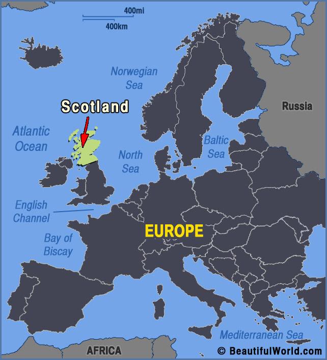 scotland-europe-map