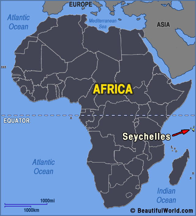 Map of Seychelles   Facts & Information   Beautiful World Travel Guide