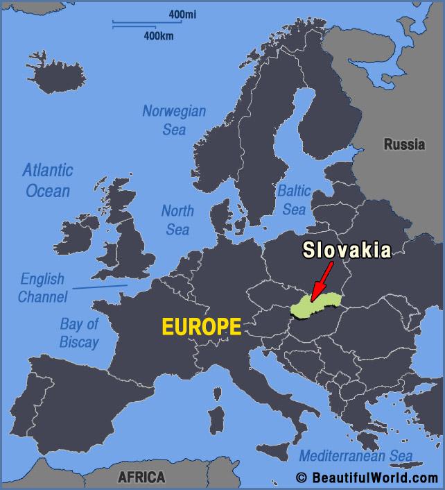 slovakia-europe-map