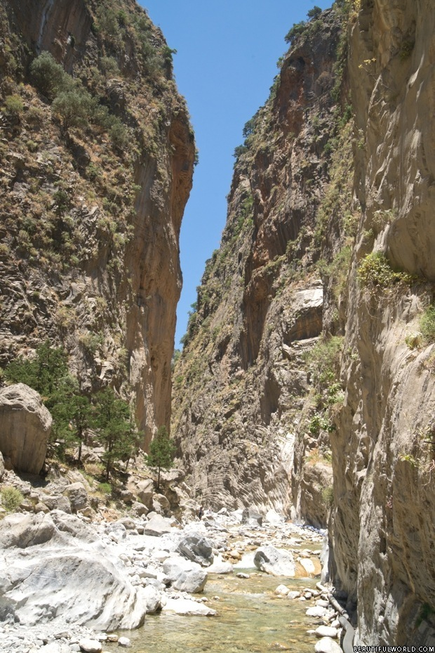 Samaria Gorge Facts & Information - Beautiful World Travel ...