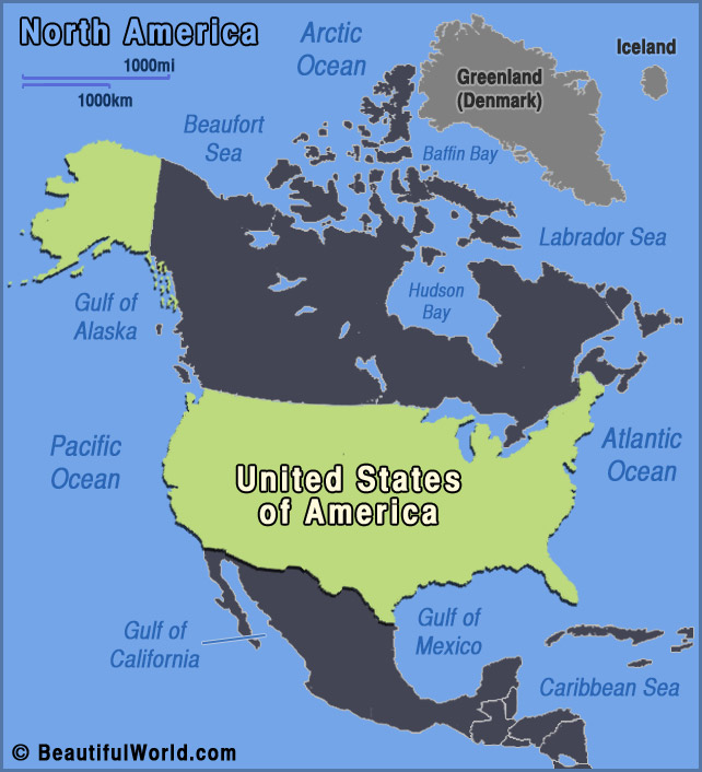 Map of United States - Facts & Information - Beautiful World Travel ...