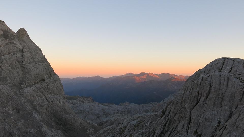 Picos De Europa Mountains