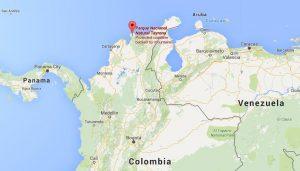 Tayrona Parl Location, Colombia