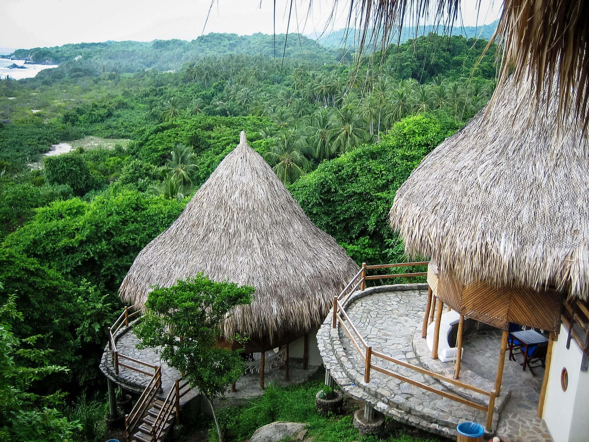 The jungle of Parque Tayrona