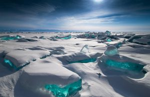 Lake Baikal was declared a World Heritage Site in 1996.