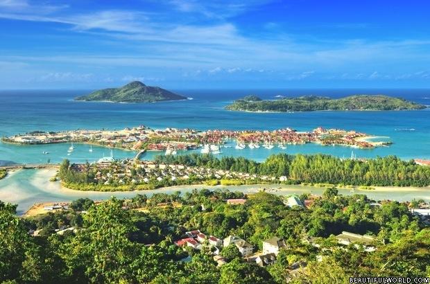 Eden Island Seychelles, Aerial View