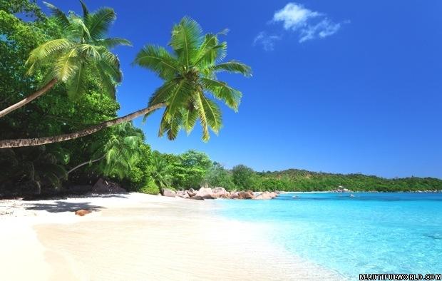 Anse Lazio Beachon Praslin Island, Seychelles