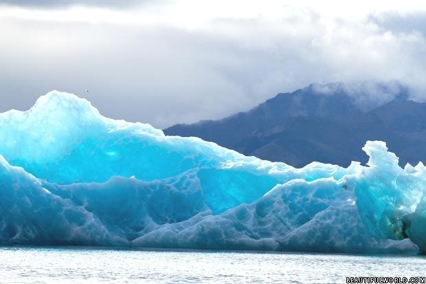 The Blue Ice Of Jokulsarlon