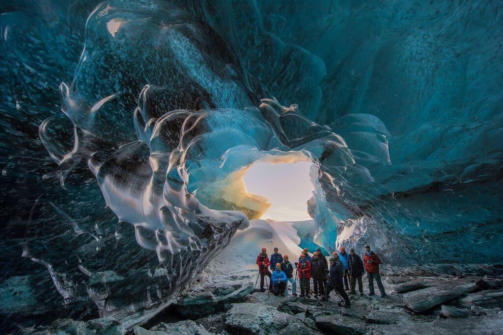 Jokulsarlon Ice Caves