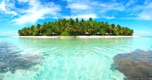 Maldivian Atoll