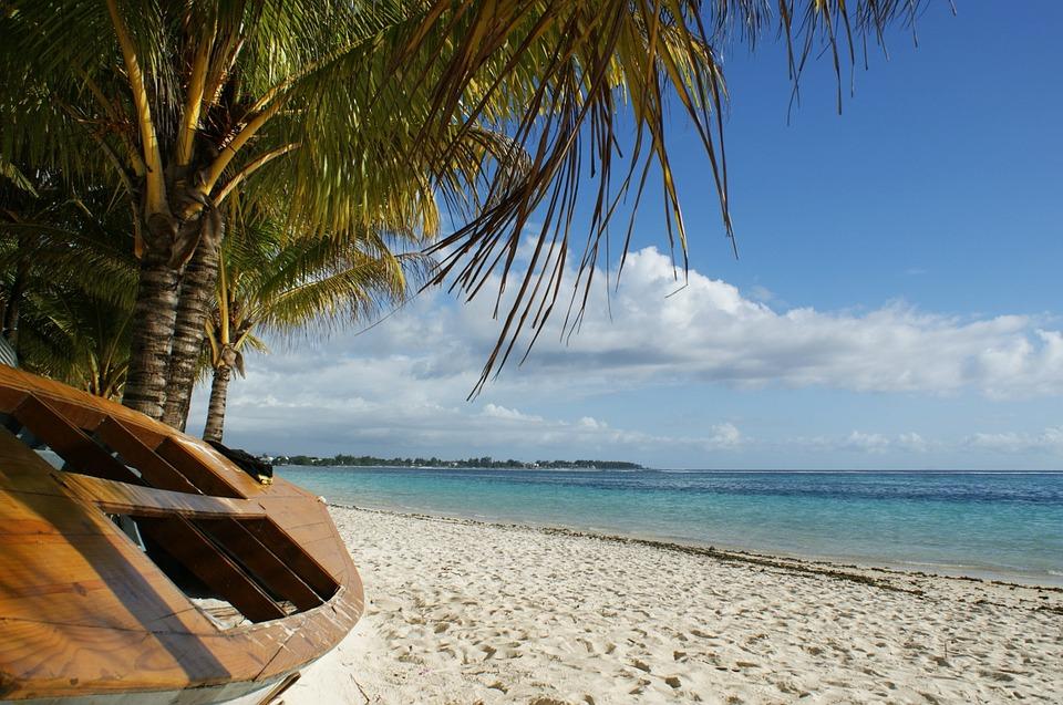 A Mauritius Beach