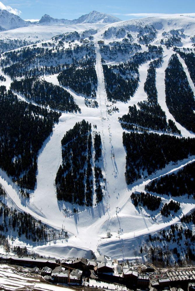 Andorran Ski Runs