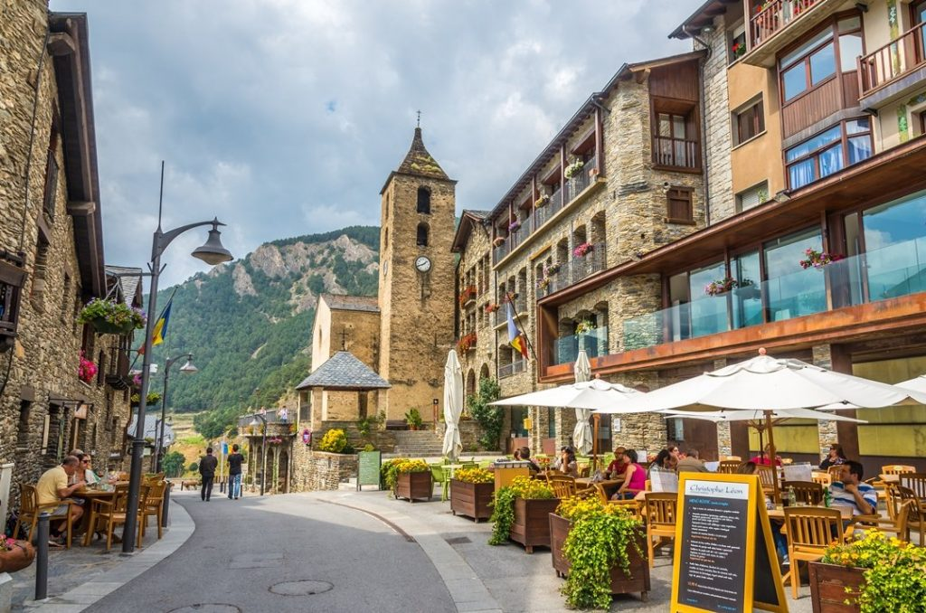 The village or Ordino
