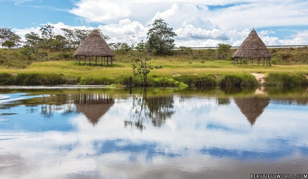 Tranquil River in Canaima National Park