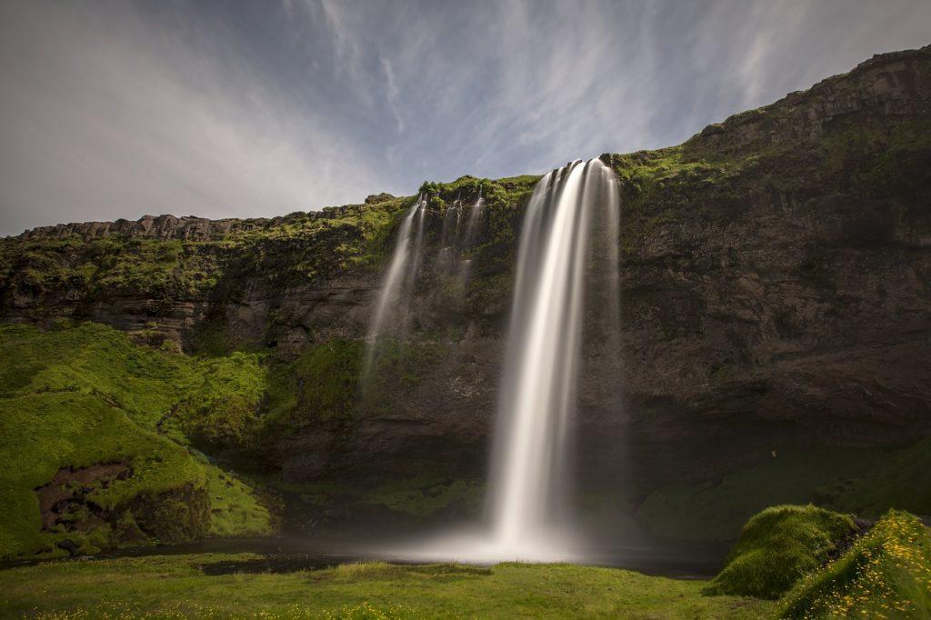 Selijalandsfoss Waterfall Iceland